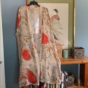 Beautiful Sheer Boutique Kimono